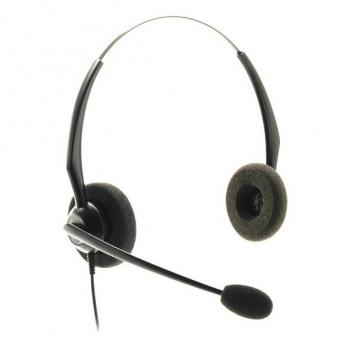 Binaurales Headset JPL100 PB inkl. Smartphone-Anschlusskabel
